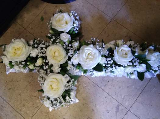 Based Funeral Cross