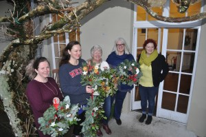 Wreath making group