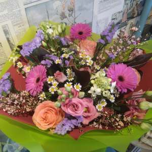 Image showing a bouquet of flowers - florist choice