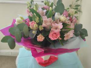 Mother's Day Hand-tied in water