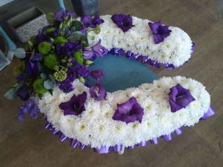 Horseshoe special funeral tribute