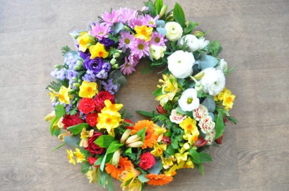 Loose wreath funeral