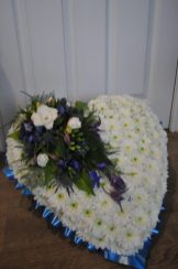 An image showing a funeral tribute