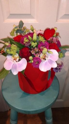 Image showing Rose Valentine's Box