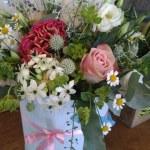 Pastel Flower Box
