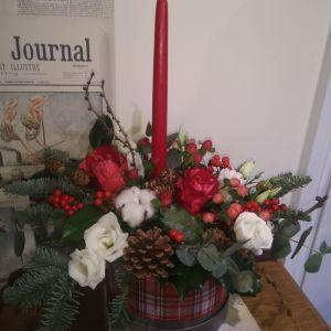Christmas Hat Box