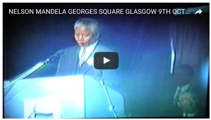 George Square speech