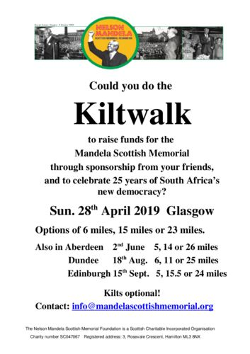 thumbnail of Kiltwalk poster A4