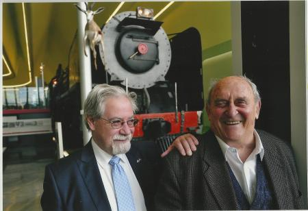 Denis Goldberg and Brian Filling