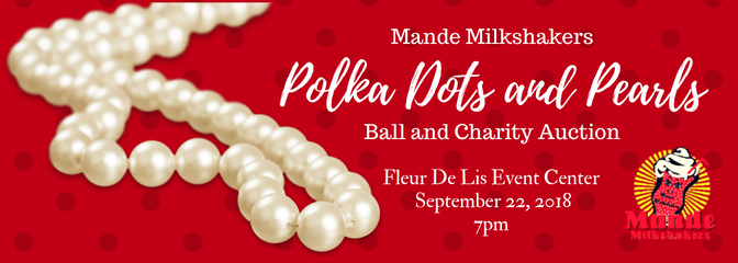 Polka Dots and Pearls Ball