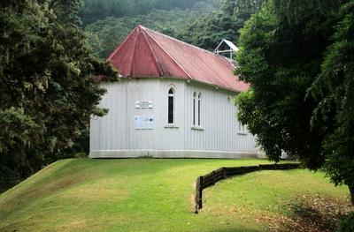 St Albans church Waingaro