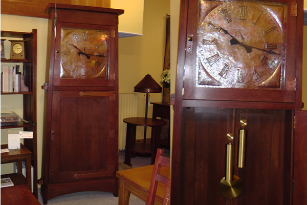 The Asheville Clock By Stickley Manderley Fine Furniture