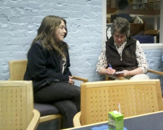 Teen author Interview
