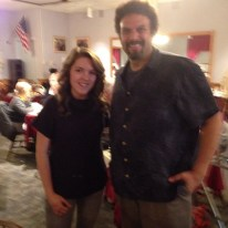 Nov. 23, 2013- Lunch with Neal Shusterman