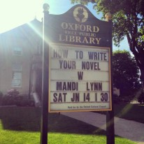 June 14, 2014- Workshop at Oxford Public Library