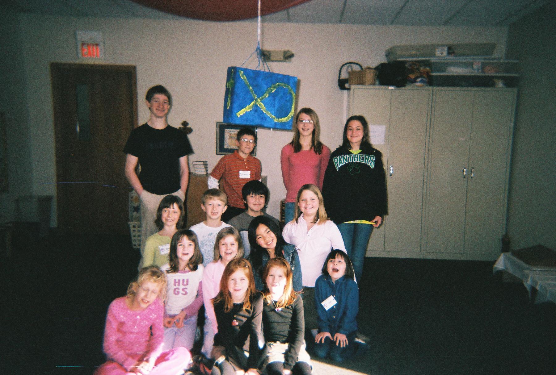 Sunday School Activites 6th