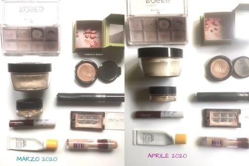 smaltimento makeup aprile