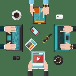 Diklat KTI dan Jurnalistik, KIR dan Team Web