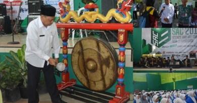 Kepala KEMENAG Ponorogo Membuka Acara Sains and Art Competion (SAC) 2017
