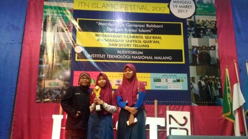 MAN 2 Ponorogo Juara 2, Islamic Festival Story Telling di ITN Malang