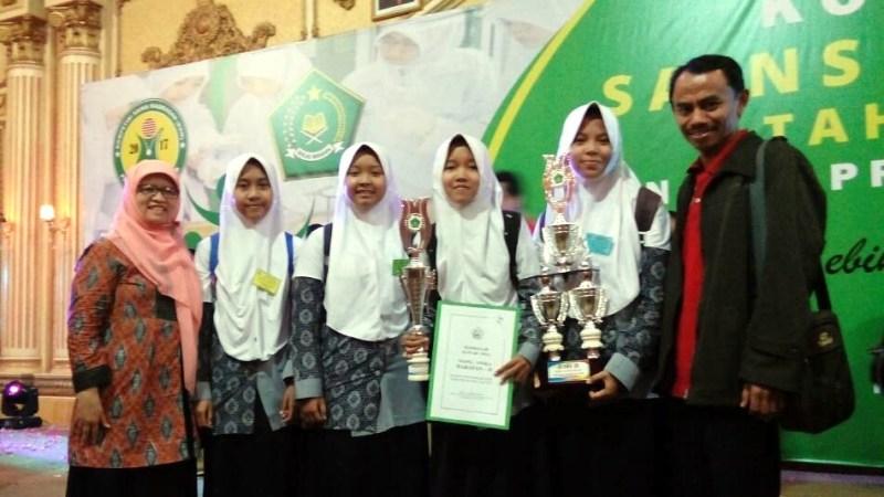 Hasil Kompetisi Sains Madrasah Surabaya, 22 s.d 24 Mei 2017
