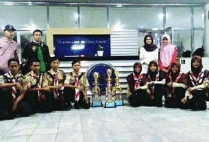 Pramuka MAN 2 Ponorogo Borong Juara di KEMRINAS IPB