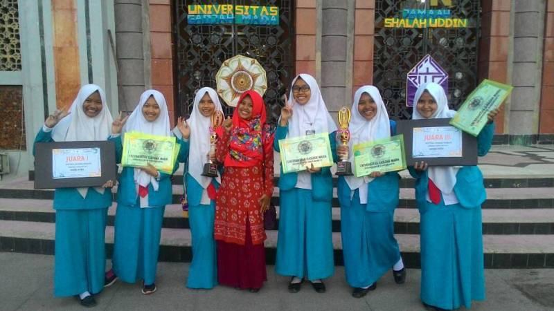 MAN 2 Ponorogo Juara Festival Remaja Muslim di UGM