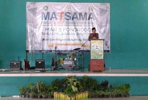 Penutupan MATSAMA MAN 2 Ponorogo Tahun 2017