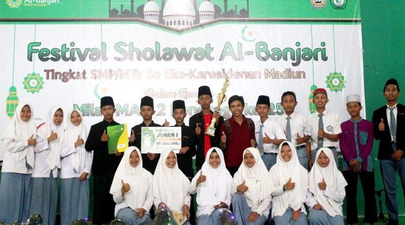 Penutupan dan Hasil Kejuaraan Festival Sholawat Al-Banjari