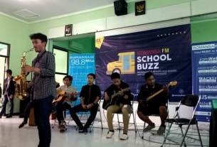 Romansa FM School Buzz in MAN 2 Ponorogo