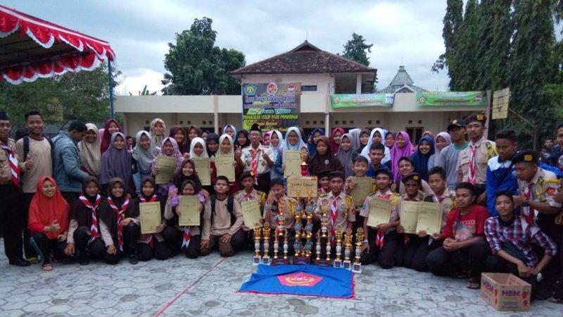 PRAMANDA Juara Umum Rover Ranger Competition IX 2018 Tingkat Jawa Timur