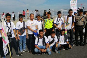 Millenial Road Safety Festival (MRSF) 2019 di Jembatan Suramadu Surabaya