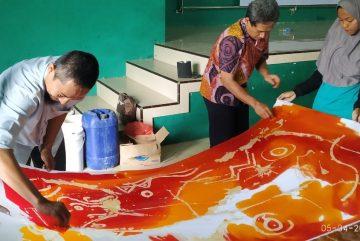 Pelatihan Membatik Bersama Sasono Batik Lukis Ponorogo