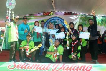 MAN 2 Ponorogo Borong Piala dalam Kemah Hijau 2019.