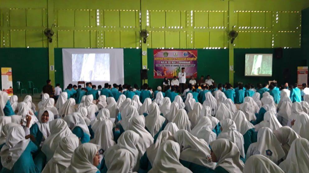 Seminar Motivasi & Penguatan Karakter Kelas XII MAN 2 Ponorogo