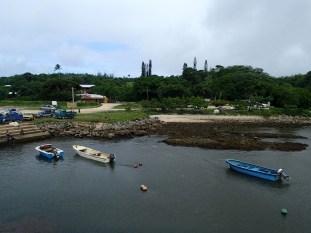 'Eua's small harbour