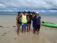 My Malolo family - Vila, Pou, Noelani, Calina and I