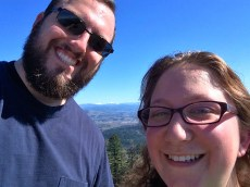 Skinner's Butte views were awesome, the hike was a bit crazy