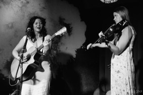 Mandy Connell and Claire Johnstone by Worth a Shot Productions at Whole Lotta Love 2015