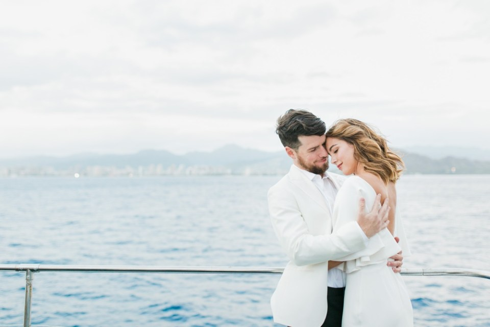yacht engagement photos in san diego