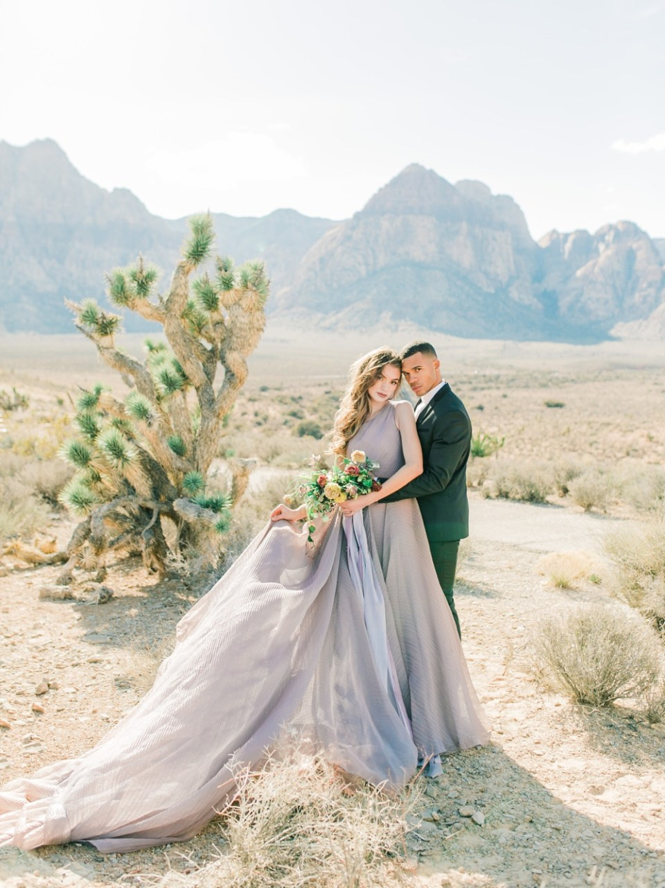 desert wedding inspiration california