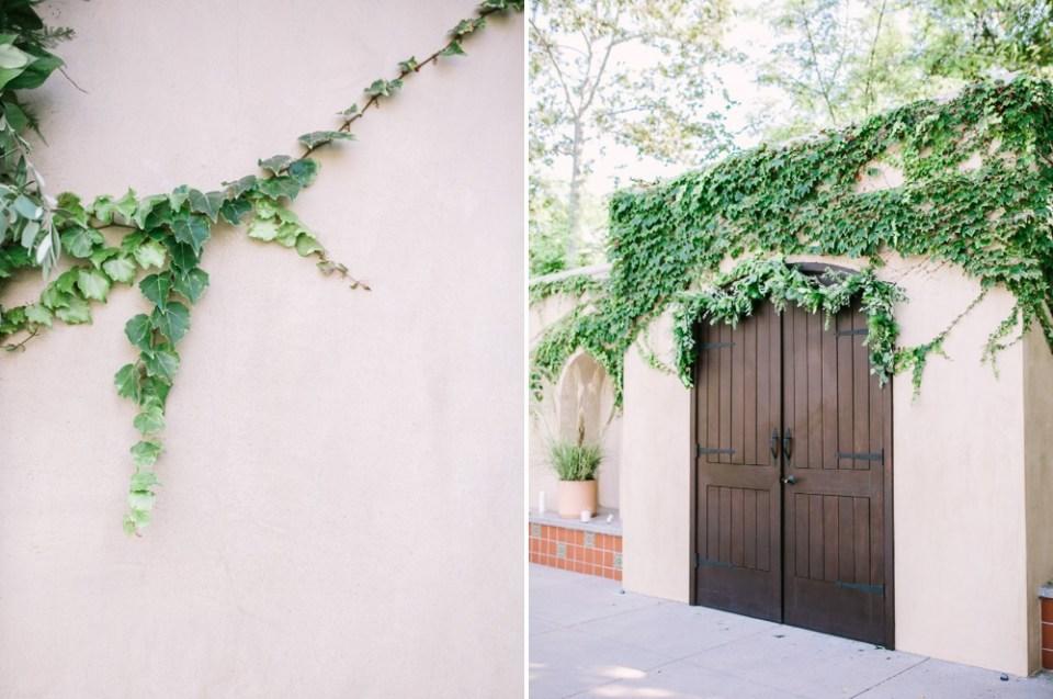los robles greens wedding ceremony site