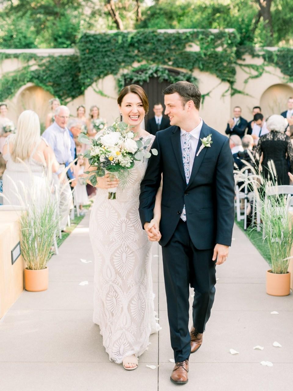 los robles greens wedding bride and groom
