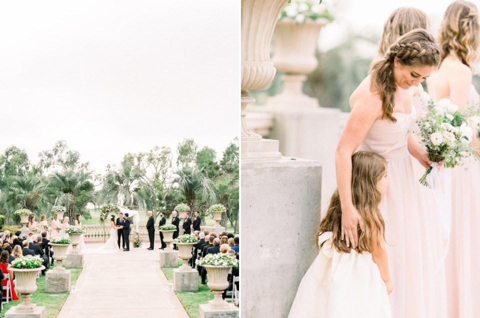 Hilton La Jolla Torrey Pines Wedding Ceremony Terrace