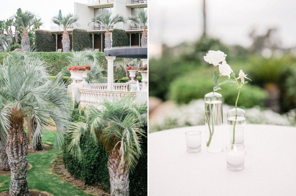 Hilton La Jolla Torrey Pines Wedding Cocktail Hour