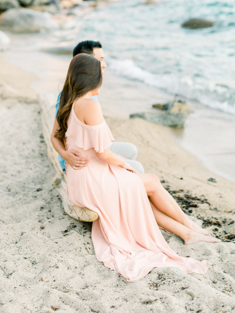 Lake Tahoe Engagement Photo Wardrobe Inspiration Lulus Gown