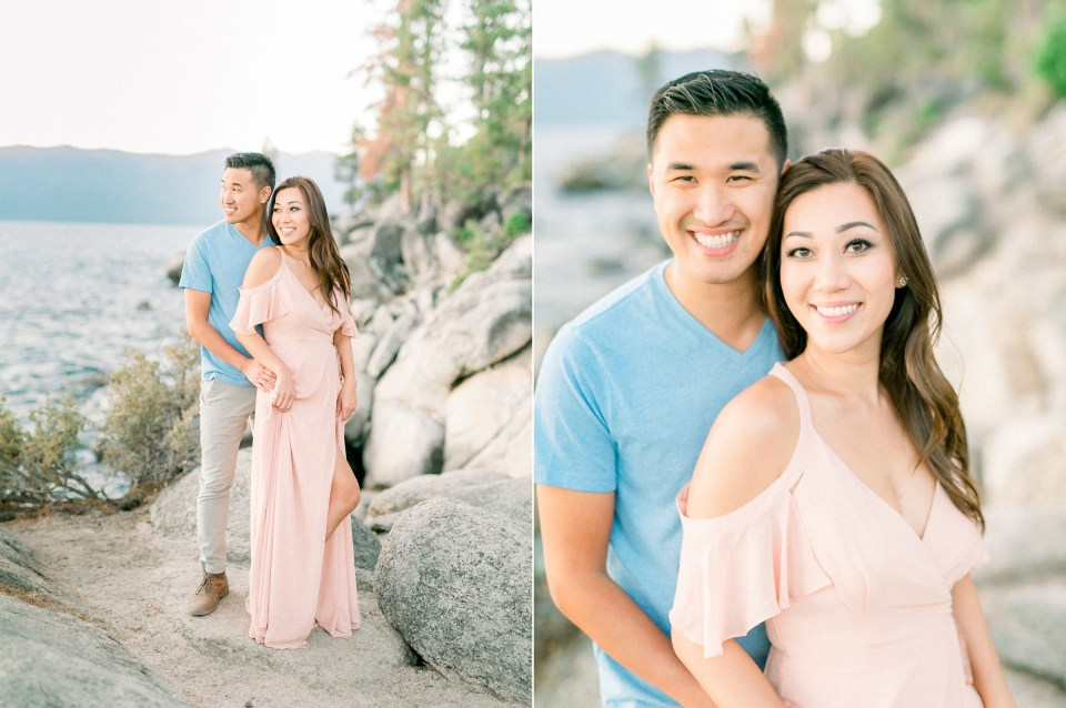 Lake Tahoe Wedding Photographer | Engagement Photos