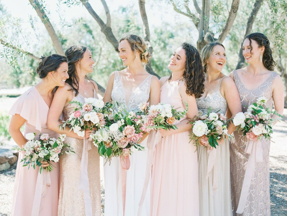 Blush And Dusty Rose Ranch House At Del Sur Wedding In San Diego