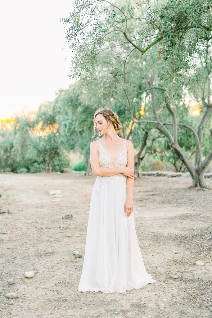 Blush And Dusty Rose Ranch House At Del Sur Wedding In San Diego Olive Grove