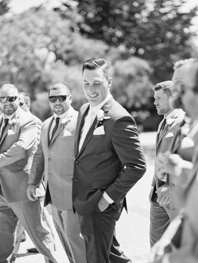Groom Style | Monterey Wedding Venue Carmel Mission and Naval Postgraduate School Club Del Monte